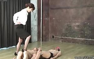 Japanese Femdom Asami Savage High Heels Chatelaine Trample