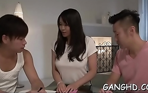 Get one's bearings babe'_s lusty group play