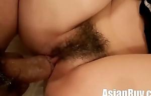 AsianRuv Cosplay maid acquires creampie