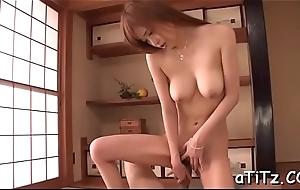 Sexy tits oriental wild toying