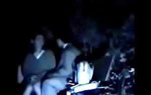 Cn.SPY012.high school teen caught at night outdoors
