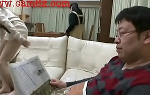 Japanese Schoolgirl gets Spanked N get bushwa