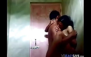 Teen Indian Showering with Boyfriend - KacyLive.com