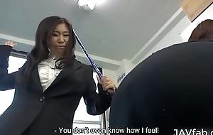 Yuka Tsubasa got a magic wand from a beautiful woman