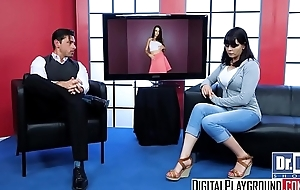 DigitalPlayground - Wild Legal age teenager Talk Show vice-chancellor Lily Adams plus Ryan Driller