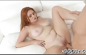 Big-busted chick goes wild during sexy sex