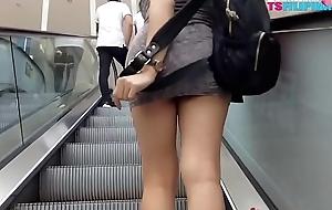 Public Untrained Busty TS Filipina Sexy Tranny
