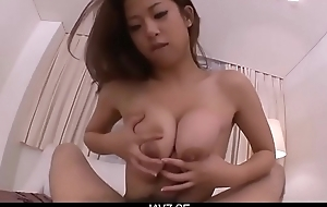 Subtitles - Magnificent POV sex with japanese MILF Satomi - From JAVz.se