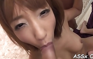 Double toying delight be beneficial to hawt oriental