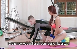 Fitness Housing Asian beauty takes trainer&rsquo_s changeless cock in her dripping pussy