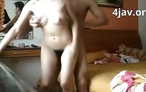 4jav.org  - Chinese Horny white wife get Fucked so hard