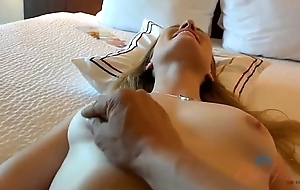 Riley Reyes, Amateur whittle filmed POV (BJ and Footjob) connected with a motel room.