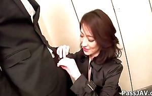 Mature nipper Marina Matsumoto&nbsp_goes hellacious before place