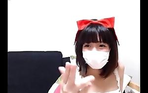 Cute Japanese Girl with a Mask on Cam - BasedCams.com