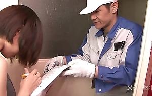 41Ticket - Shiori Natsui Forceful Unearth Delivery (Uncensored mJAV)