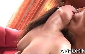 Tight-fisted pussy milf likes vibrators