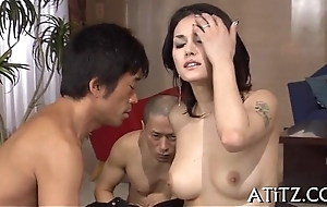 Dispirited banging for beautifu tits eastern