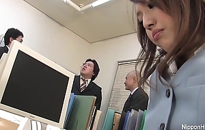 Japanese babe gets fucked respecting the assignment