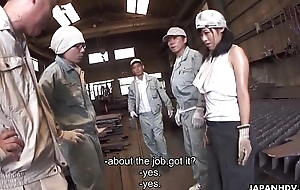 Metal workers going to bed a sex understood slut