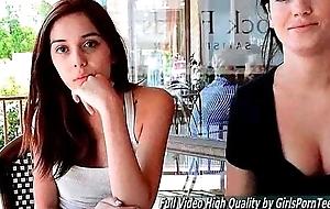 Porn Sophia girlfriend milk gut public