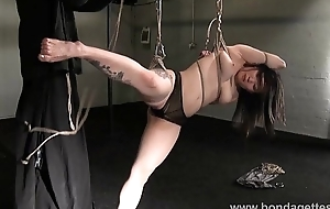 Devils asian suspension bondage and kinky fetish of tied with reference to japanese dreamboat in s