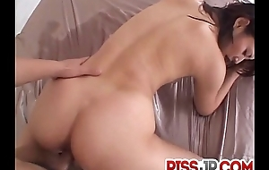 Perfect threesome Japan porn with astonishing Risa