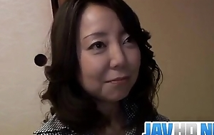 Sachiko Asian mature gets drilled until exhaustion