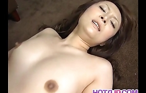 Karen Miyajima is well fucked thither frowardness and consecutively a the worst hairy labia