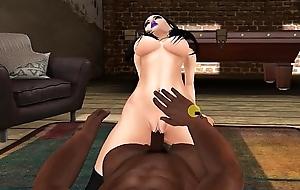 Babydoll Getting Fucked By Big Black Cock