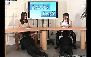 MLDO-088 Chimerical leg &amp_ boots news station. Mistress Land