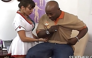 Liberal Interior Ava Devine Fucked apart from Huge Black Dick