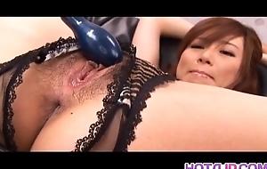 Keito Miyazawa Asian stewardess exposes astonishing body nearly her horny date and he spreads her legs nearly ma