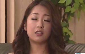 Organize sex scenes along Satomi Suzuki babe adjacent to red lingerie