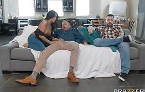 Tanned Asian girl fucks her hubby's affiliate apt headway him