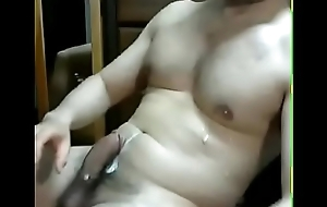 Bored and horny cumshot video
