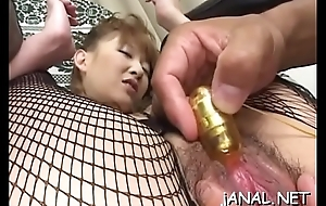 Closeup dabbler anal dance